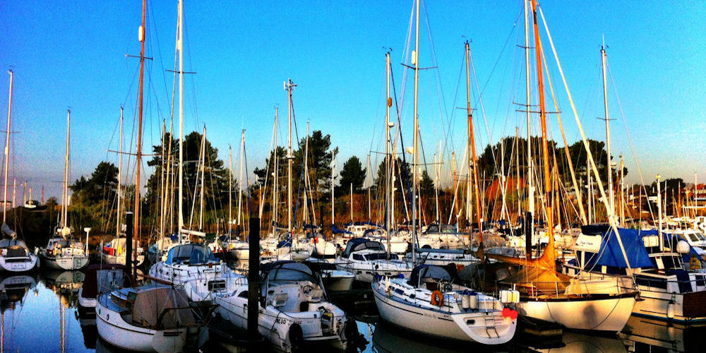 Image from the marina